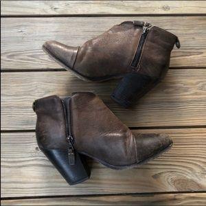 Rag & Bone Brown Leather Margot Booties
